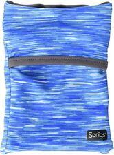 Sprigs Unisex Banjees 2 Pocket Wrist Wallet,Blue Melange/Gray