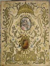 relic reliquia relicario shrine reliquary in Ricamo 1600 SAN GIOVANNI NEPOMUCENO