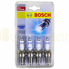 Bosch 0242235957 Super Plus Spark Plugs FR7KCX+ Set of 4