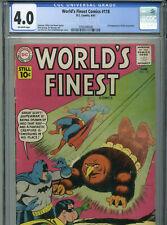 World's Finest #118 - June, 1961 - CGC 4.0