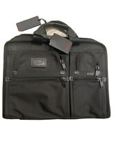 Tumi Mens Black Collegemappe Portfolio Briefcase