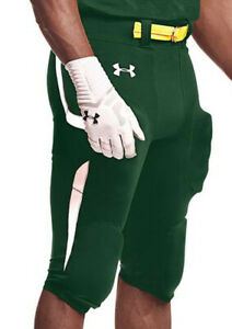 Under Armour Men's / Size Small / Green White Football Pants / $69.99 NWT / NEW