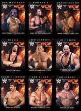 DEBUTS OF WCW LEGENDS BLACK BASE 9 CARD SET 2020 Topps WWE SLAM DIGITAL CARD