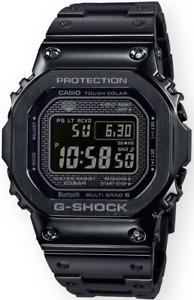Casio G-Shock Full Metal Black GMWB5000GD-1 Solar Bluetooth Multi Band-6 BNIB