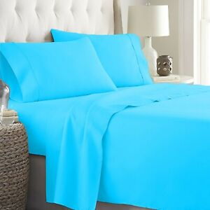 Egyptian Cotton Wonderful Aqua Blue Bedding Collection Choose Item & Pattern
