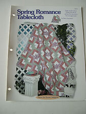 Spring Romance Tablecloth Quilt Pattern Creative Scrap Quilting