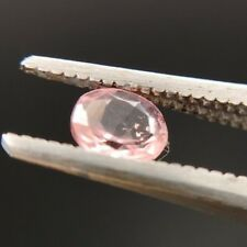 Natural oval faceted earth mined pink Tourmaline 0.32ct