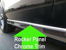 FOR CHEVY 2000-2006/2007-2012 ROCKER PANEL Body Side Molding CHROME Trim 2pc