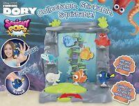 Disney Pixar Finding Dory Pantalla Acuario Tanque TV Y Película Personaje Toys