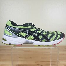 Asics DS Trainer 18 Athletic Running Shoes Mens Size 9 Training Yellow Black