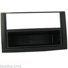 CT24SK03 SKODA FABIA 2004 to 2007 BLACK SINGLE DIN FASCIA ADAPTER & POCKET