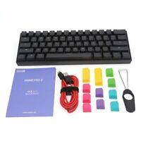ANNE PRO 2 Gateron Switch Bluetooth USB RGB Mechanical Gaming Keyboard 61 Keys