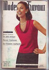 modes et travaux numero 793 - janvier 1967