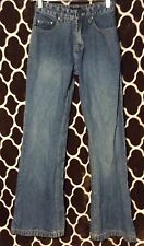 BKE Jasmine WOMENS Mid RISE BOOT CUT JEANS Well Worn Ready To wear Size 26 C174