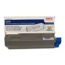Okidata C610N - Yellow Toner - 6,000 Page Yield Oki44315301 New