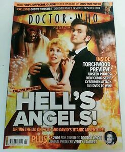 MAGAZINE - Doctor Who Monthly Magazine DWM Panini Issue #391 Date 6 Feb 2008