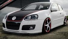 Spoilerlippe für VW Golf 5 GTI Lippe Front spoiler Spoiler Diffusor Ansatz ed30