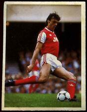David O'Leary Arsenal Daily Mirror 1986 Football Sticker (C211)