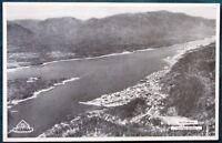 Alaska Steamship Company 1934 SS Yukon Menu w Ketchikan Aerial View cover
