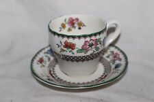Copeland Spode Chinois Rose Coffee Cup and Saucer No 2/9253