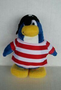 "Disney Club Penguin Pirate Plush Stuffed Toy 7"""
