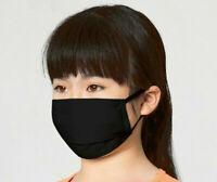 🇫🇷  Masque de Protection  Lavable 100% Coton Bleu Ados de 12 ans à 17 ans
