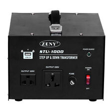 1000 Watt Voltage Converter Transformer Heavy Duty Step Up/Down only 110-22