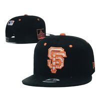 NEW ERA 9 FIFTY  SAN FRANCISCO GIANTS MLB ADULT ADJUSTABLE SNAPBACK BLACK HAT