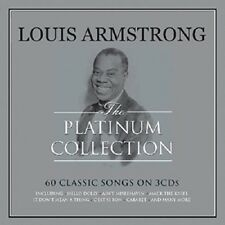 Louis Armstrong The Platinum Collection 3-CD NEW SEALED Jazz Mack The Knife+