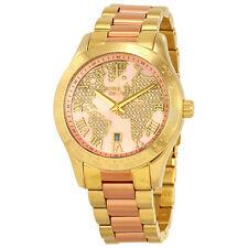 Michael Kors Layton Rose Gold-tone Dial Ladies Watch MK6476