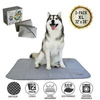 NEW Washable Pee Training Pads for Dogs Puppy Cat Reusable Extra X-Large 2 Pack