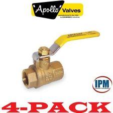 Apollo 94A10301 Ball Valve 2 PC 1/2 in FNPT Brass 1ckd1