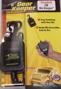 Retractable CB Radio Microphone Holder - Gear Keeper