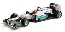 MINICHAMPS MERCEDES AMG F1 W03 Last Race 2012 Schumacher 1:18*Brand New!