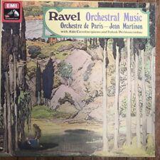 SLS 5016 Ravel Orchestra Music / Martinon / ODP 5 LP box set