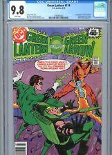Green Lantern #114 CGC 9.8 White Pages 1st Crumbler DC Comics 1979