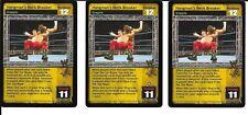 WWE RAW DEAL - 3X Hangman's Neck Breaker *FREE SHIPPING* RARE *Playset* Grapple