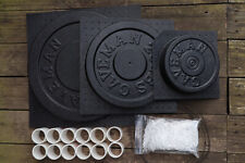 Cast Your Own Weights! 3 Mold Kit: 45, 25 and 10 / 5 lbs Mold Kits. Made in USA