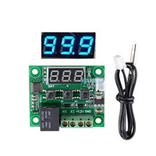 W1209 DC12V Digital Thermostat Temperature Controller Cable NTC10K 1% 3950