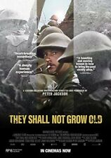 THEY SHALL NOT GROW OLD New Sealed DVD Peter Jackson