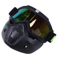 Ski Snowboard Goggles Glasses Face Mask Motorcycle Racing ATV Dirt Bike Safety