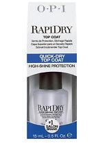 NEW OPI Rapidry Top Coat 15ml