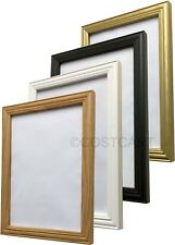PHOTO PICTURE POSTER PRINT ANTIQUE ANQITUE STYLE FRAME BLACK WHITE OAK GOLD