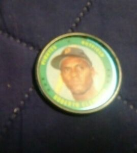1971 Topps Coins Roberto Clemente #71 very good (see scan)