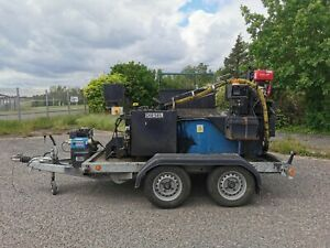 Road Tow Diesel Bitumen Boiler - Heated Lance - Thermostatic Controlled