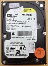 ➔ Hard drive: Apple Western Digital WD 250Gb Caviar SE SATA WD2500JS 1259A