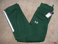 New Men's UNDER ARMOR JET'S Green CLASSIC all season gear U A TEAM Pants S small
