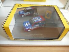 """Universal Hobbies Renault 5 Maxi Turbo #3 """"Philips"""" in Blue on 1:43 in Box"""