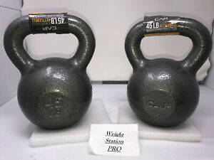PAIR 2x CAP Kettlebell Weight - 45 LB Each 90 LB Total Free Shipping