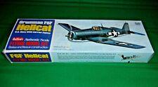 Guillow's, Grumman F6F Hellcat U.S. Navy WW2 Carrier Fighter Model, Kit 503 NIB